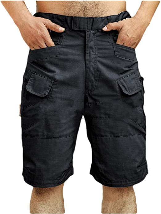 Nicellyer Men's Relaxed Fit Outdoor Oversized Multi Pockets Wild Cargo Pants