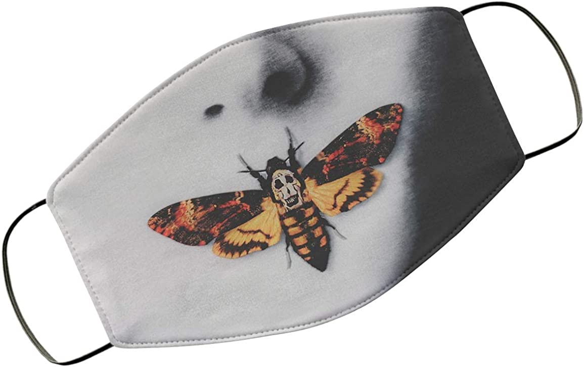Women with Silence Of The Lambs Mouth Halloween Design Cloth Face Covering for Men Anti Dust Sun Protective Accessories Air Pollution