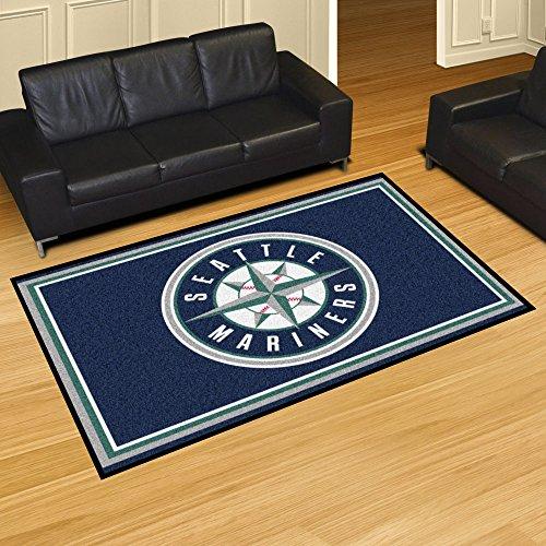 [MLB - Seattle Mariners Rug 5x8 60