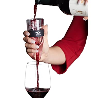 Wine Aerator Pourer, Decanter Filter, Air Diffuser - by Direct2U