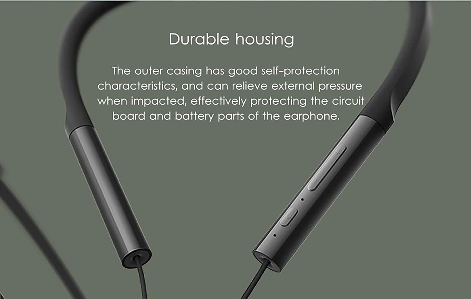 Amazon Com Gooplayer For Xiaomi Bluetooth Earphone Neckband Collar Youth Edition Sport Wireless Bluetooth Headset With Mic Earbuds Headphone Black Home Audio Theater