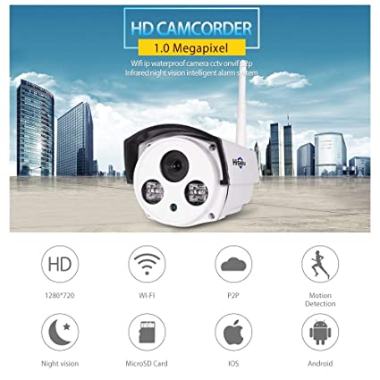 Amazon.com: YAOkxin 720P WiFi Network Camera Surveillance ...