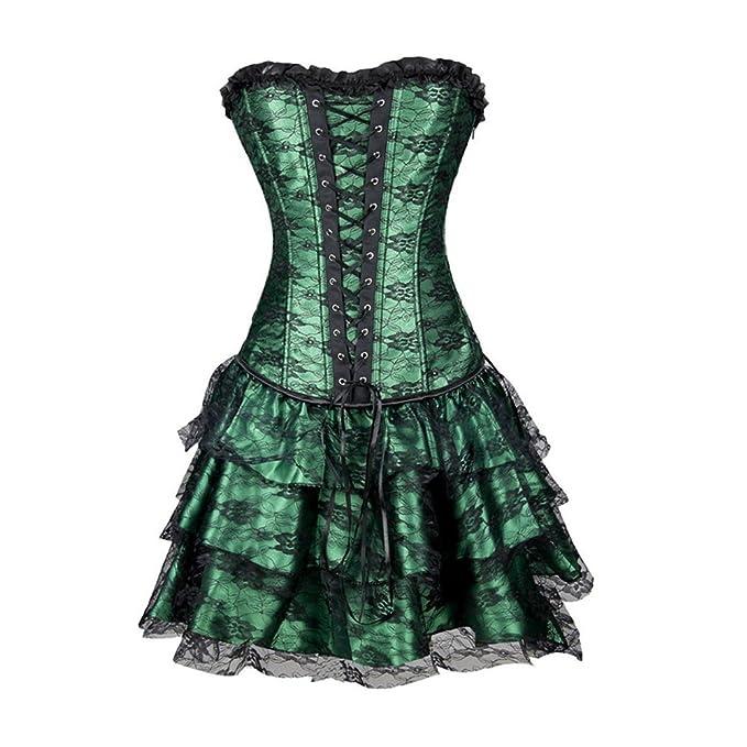 Missyhot Cors¨¦ Negro atractivo Con estilo palatino Vestido Buena calidad Barato