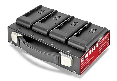 ROKO TC4-BPU - Cargador para baterías Sony BP-U (4 ...