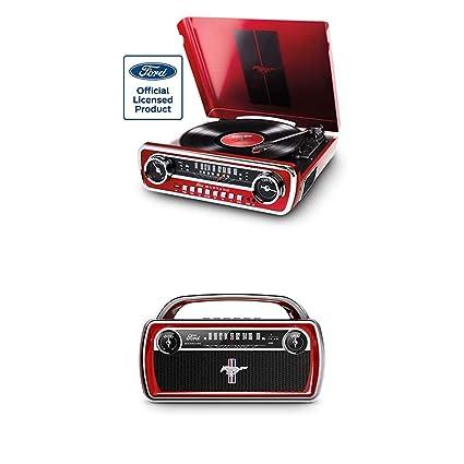 ION Audio Mustang LP Red + Mustang Stereo - Centro de Música con ...