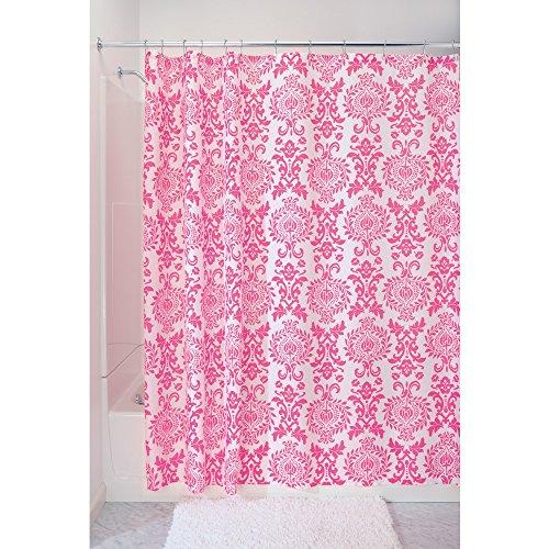 InterDesign Damask Fabric Shower Curtain product image