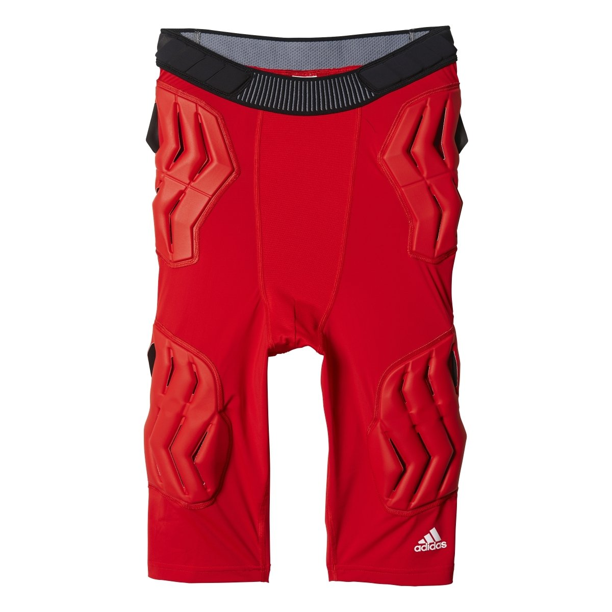 adidas Mens Basketball Padded Techfit Short