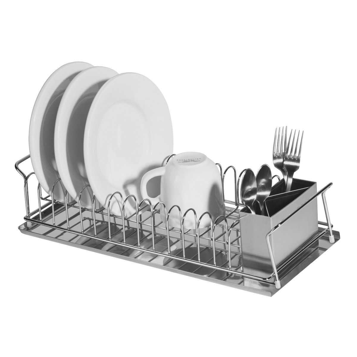 Kitchen Dish Rack Amazoncom Oggi 7126 3 Piece Dish Rack Set Dish Drying Rack