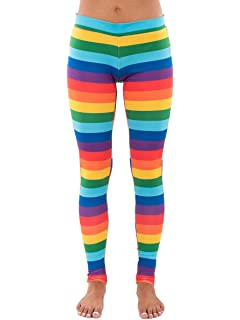 38812a3744209 Amazon.com: HDE Girl's Ultra Soft Leggings with Print Designs Full ...