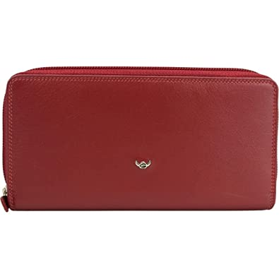 Golden Head Polo - Cartera para mujer (19 cm) rojo rojo: Amazon.es ...