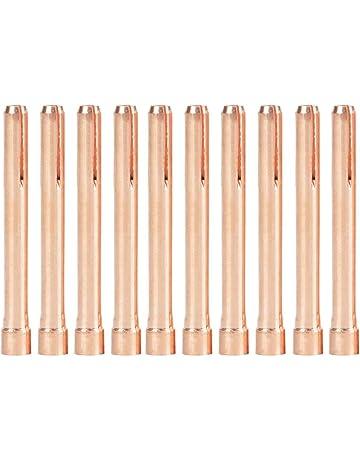 Boquillas Tig - 10 piezas 10N24 boquillas de antorcha de soldadura para antorcha de soldadura Tig