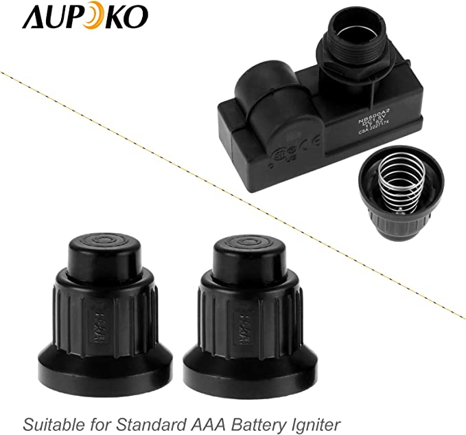 2//3//4//5 Outlet Electric Spark Push Button Pulse Igniter for Gas Grill BBQ