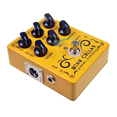 CP-60 Driver+DI para bajo, pedal de guitarra, efecto de 9 V ...