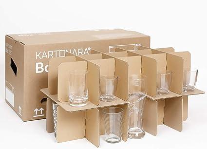 Cajas de cartón para vasos, caja para mudanzas, caja para botellas ...