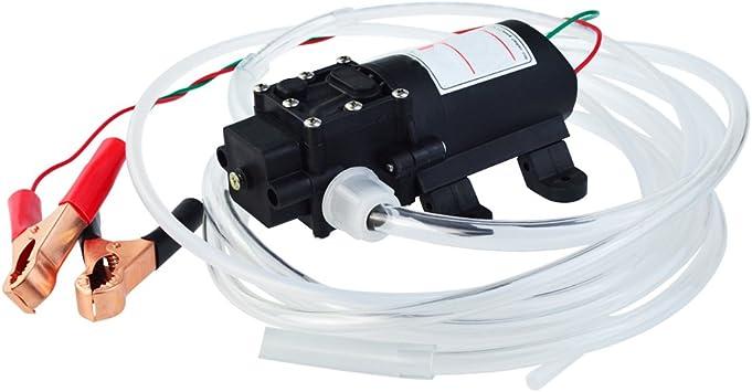 Stunde Rohre f/ür Auto Boot Motorrad Lkw RV ATV DC 12 V 60 Watt /Ölpump /Öl Diesel Kraftstoffpumpe 250L
