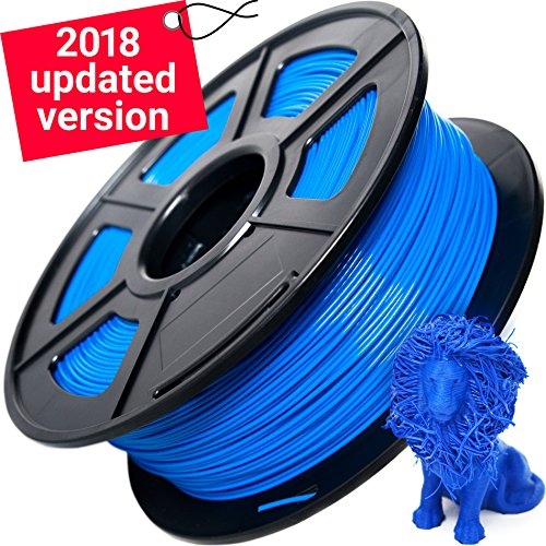 Biodegradable Grip Pen - 3D Printer Filament - PLA Filament - 1 kg Blue 3D Printer Pen Refill PLA Filament 1.75mm - High Accuracy of 1.75 - Refills Makerboat Esun Solutech or Tianse
