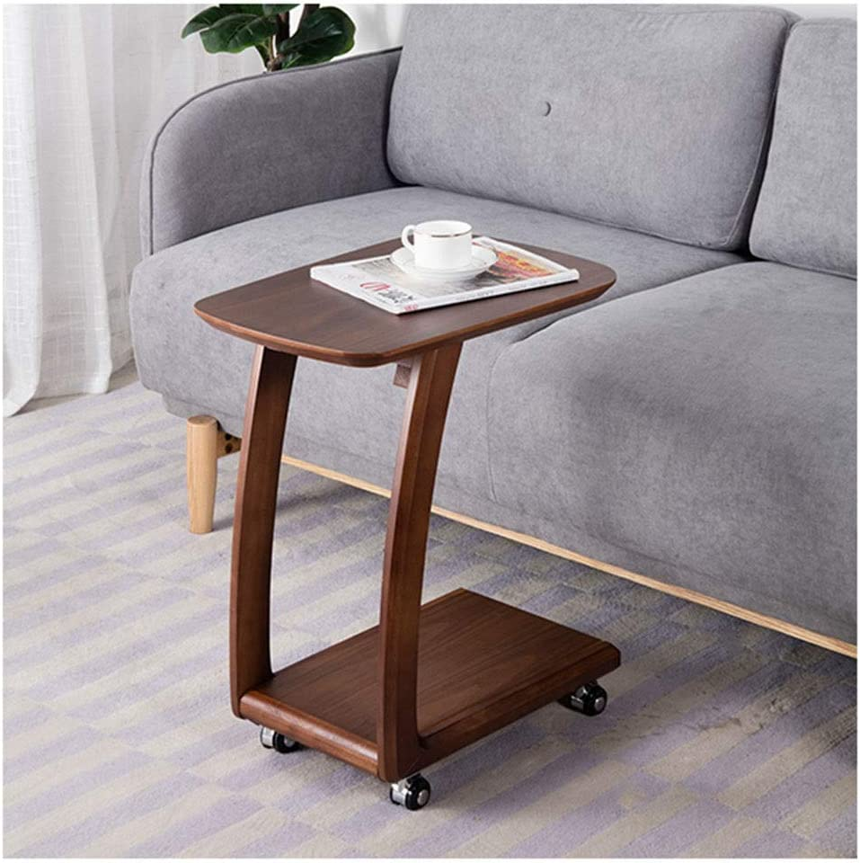 - Amazon.com: Wooden End Table Side Table Small Coffee Table Bedside