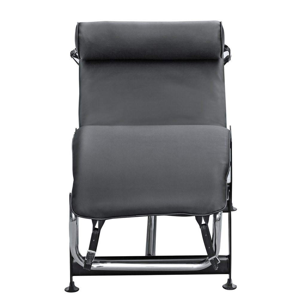 Modern classic armchair - Amazon Com Lc4 Black Le Corbusier Chaise Lounge Chair Kitchen Dining