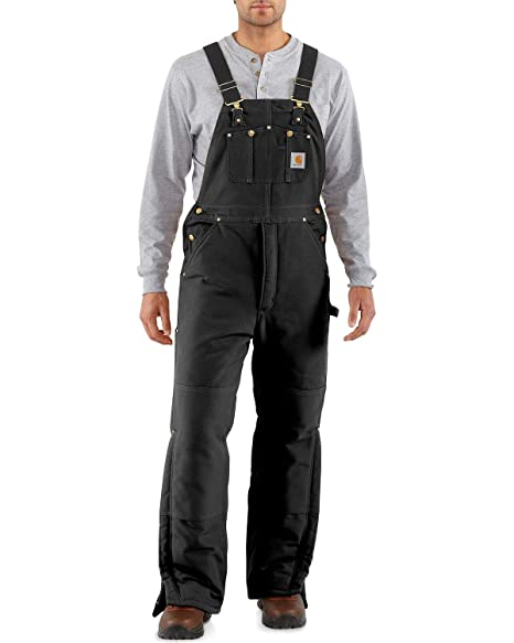 beautiful and charming hot-selling discount search for latest Carhartt Men's Arctic Quilt Lined Duck Bib Overalls R03