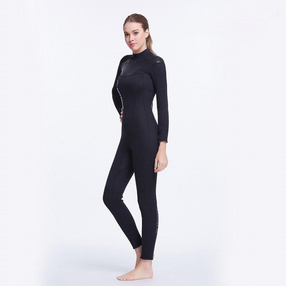 Modèles féminins XL DEED 3Mm Wetsuit Hommes Et Femmes Néoprène épais Chaud Plongée Costume Plongée en Apnée Profonde Saut VêteHommests de Surf