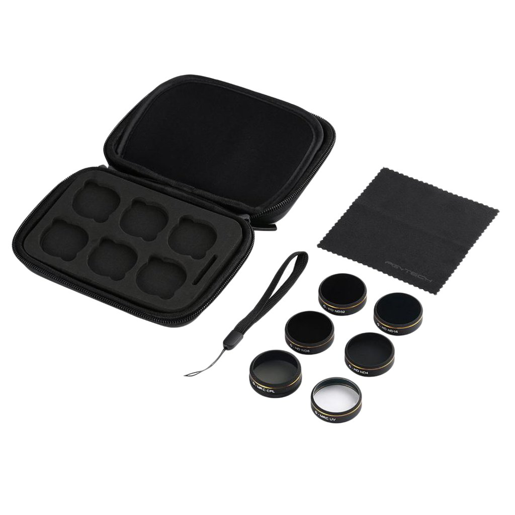 MonkeyJack UV ND4 ND8 ND16 ND32 CPL Filter Lens With Filter Lens Case For Phantom 4 Pro by MonkeyJack (Image #3)