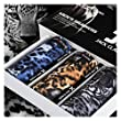 JLTPH pack of 3 Mens Boxer Briefs 3D Sexy Leopard Tiger Pattern Underwear Silk Underpants