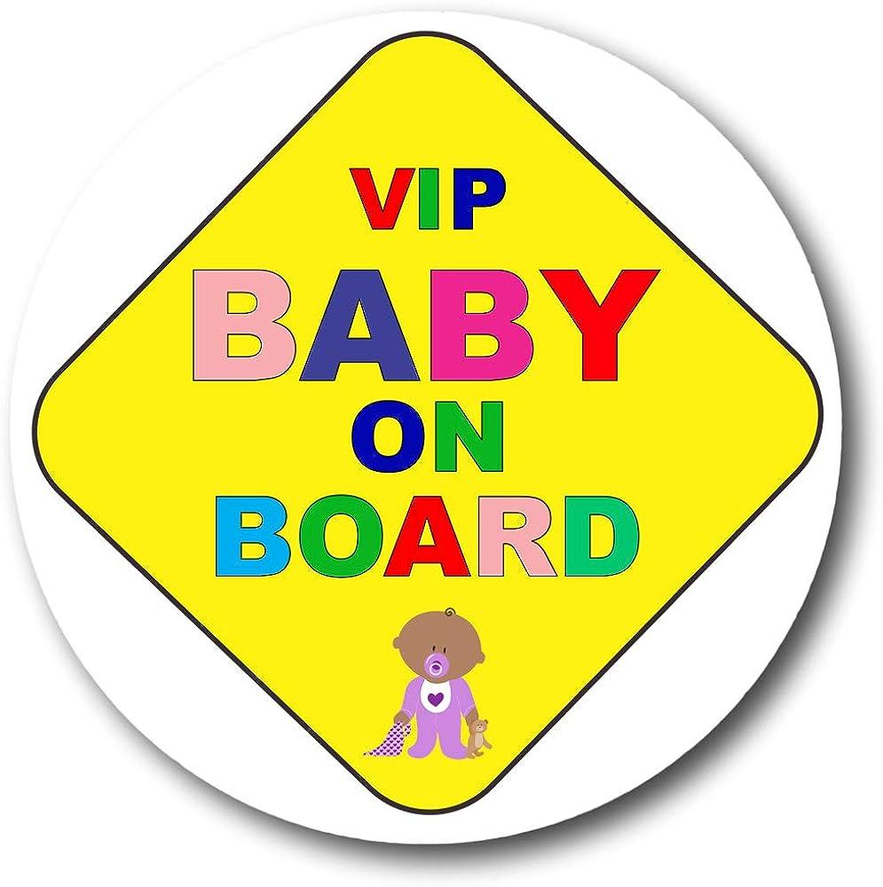 Gifts Gadgets Co Vip Baby On Board Button Anstecker 38mm Anstecknadel Klein Rund Bekleidung
