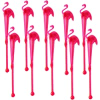 Besto nzon Cóctel Mixing Sticks, plástico Flamingo Mixing