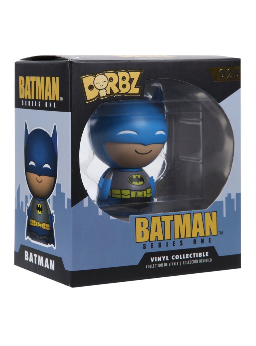 Funko DC Comics Batman Series One Blue Batman Dorbz Vinyl Figure