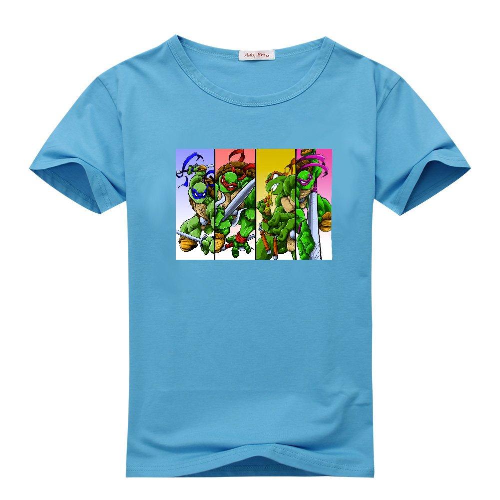 KellyCampbell Teenage Mutant Ninja Turtles Sky Blue Mens ...