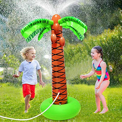 Magical Lighting Inflatable Palm Tree Sprinkler, 61