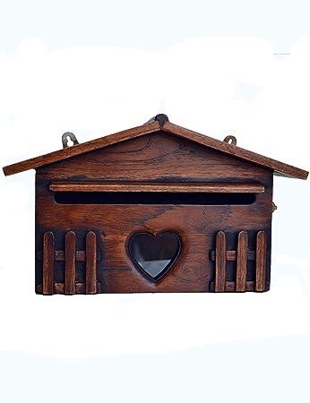 XF Massivholz Kreative Villa Brief Box Wand Outdoor Regen Outdoor ...