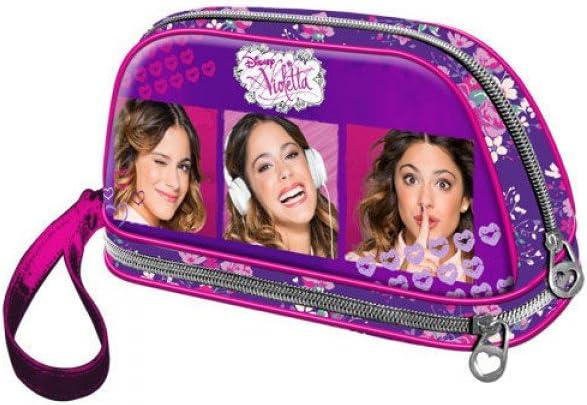 Violetta bolsa de aseo candy collage: Amazon.es: Juguetes y juegos