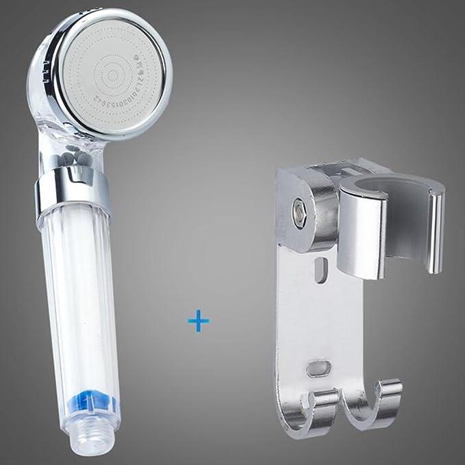 HONEY Cabezal De Ducha Filtración Portátil Calentador De Agua Universal Manguera Soporte (Color : C): Amazon.es: Hogar