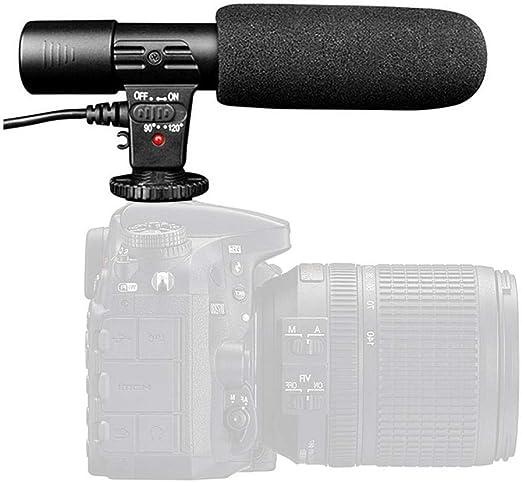 Goglor Micrófono de vídeo, Cámara DSLR Profesional Videomicro ...