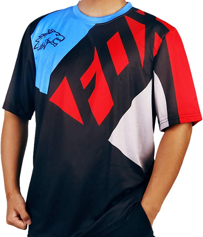 MTB Fox Ranger SS fox Jersey camiseta manga corta downhill rojo negro