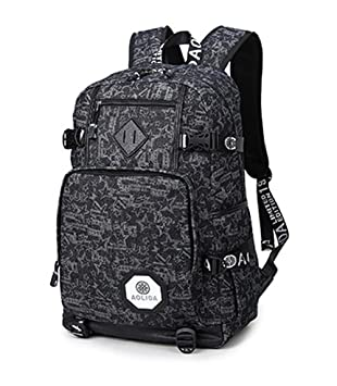 lizaida Menendez Classic College School Laptop Mochila - Correas Reforzadas ocio mochila deporte mochila de viaje mochila estudiante Mochila Mochila para ...