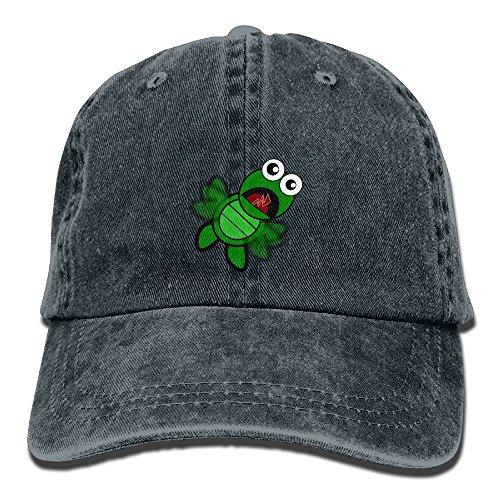GqutiyulU Turtle Flapping Adult Cowboy Hat Navy ()