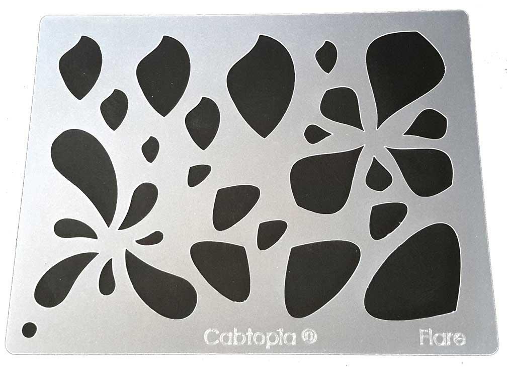 Cabtopia -- Lapidary Jewelry Design Template Stencil