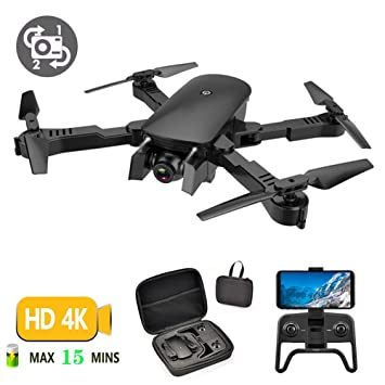 LJXWXN Drone con Cámara HD De 4K, RC Quadcopter, App Smart Control ...