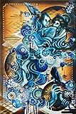Digital Love (Computer Blue) - Urban Art by Jonathan Wakuda Fischer