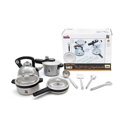 Amazon.com: Klein WMF Juego de Play de cocina ollas y ...