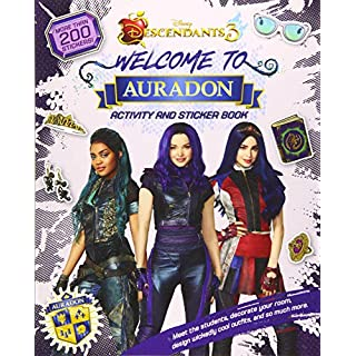 Welcome to Auradon: A Descendants 3 Sticker and Activity Book