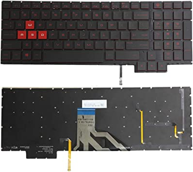Original HP Omen 15-CE001TX 15-CE025TX 15-CE026TX 15-CE051NR Keyboard US Backlit