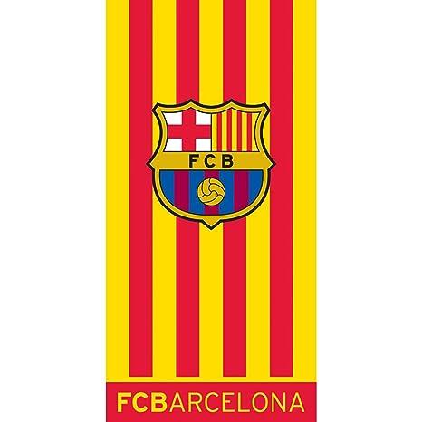 Toalla de ducha FC Barcelona 75 x 150 cm Barca Playa Toalla FCB 6001