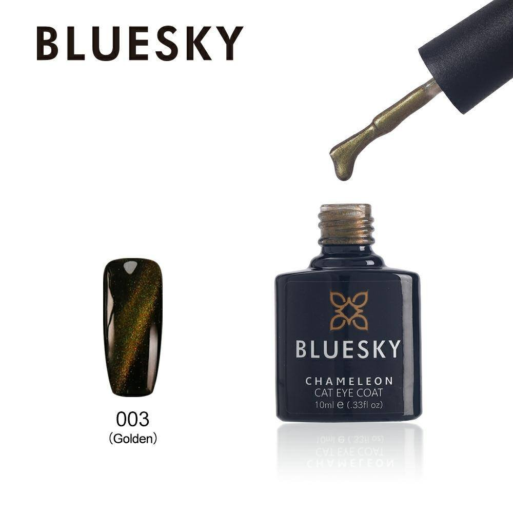 Bluesky CHAMELEON CAT EYE MAGNETIC Gel Nail Polish UV/LED Soak Off 10ml FREE P&P (MAGNET)