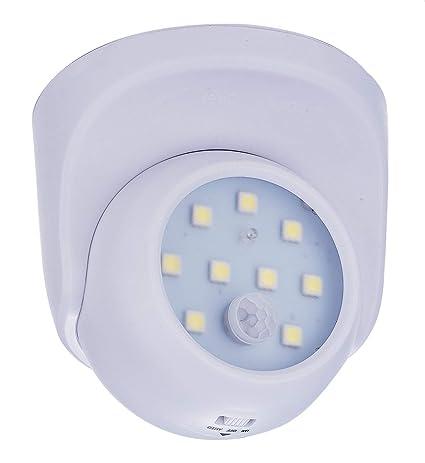 zeyun sin cable, batteriebetriebenes LED Luz de seguridad con detector de movimiento, Spot Light