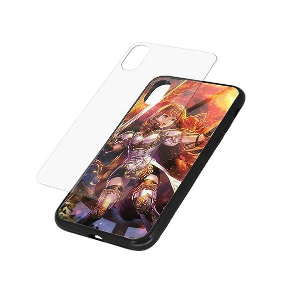 DerrikM IphoneXR TPU Glass Phone Case Anime Fire Emblem ...