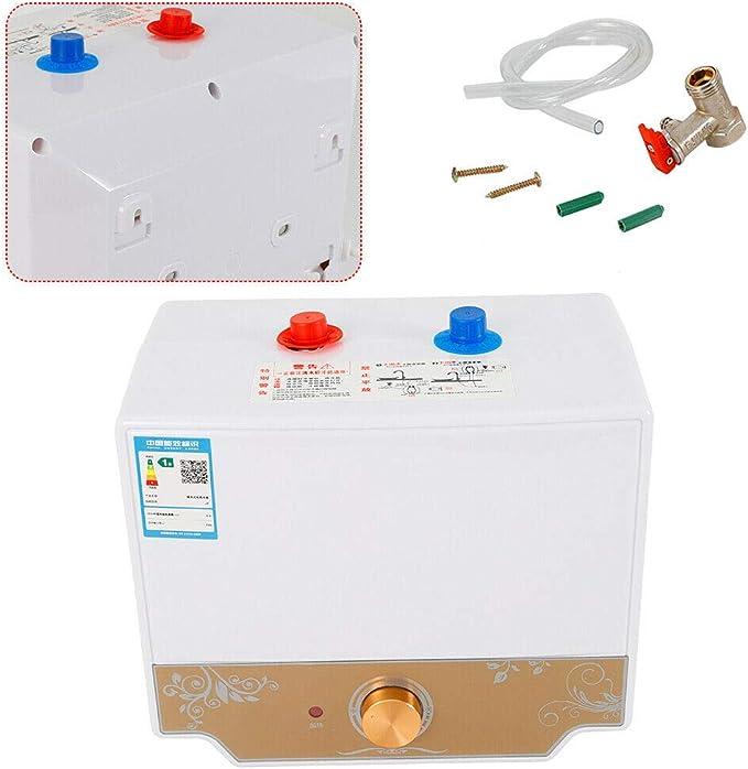 1500W Kleindurchlauferhitzer Elektrische Warmwasserbereiter Boiler 220V 8 L