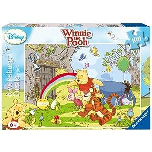 Ravensburger 10617 Winnie The Pooh Puzzle 100 Pezzi